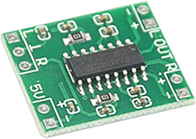 WMYCONGCONG 10 PCS Super Mini PAM8403 2 3W Class D Digital Amplifier Board 2.5-5V USB Power Supply
