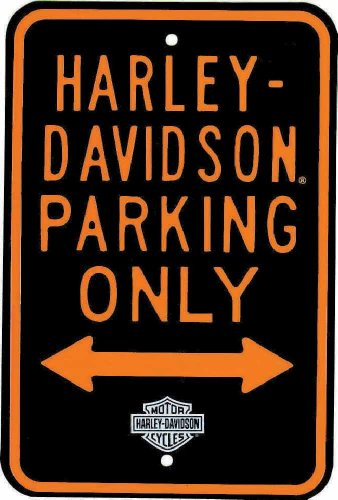 Harley-Davidson Parking Only Sign. 10902091
