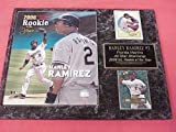 Hanley Ramirez Florida Marlins 2 Card Collector Plaque w/Rookie of the Year Photo