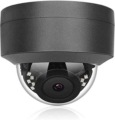Hikvision Compatible Anpviz 5MP IP POE Dome Camera Motorized 4X Optical vari-Focal 2.8 12mm AutoFocus Wide Angle Security Camera Indoor Outdoor Weatherproof Onvif Surveillance Camera IPC-D250G-4X