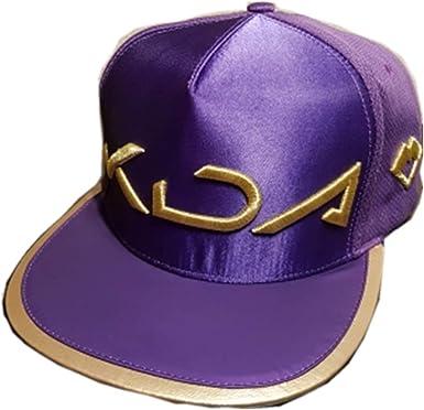 Lonme Niña Sombreros y Gorras Gorra de Sombrero KDA Cosplay Wigs ...