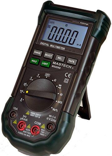 Mastech Ms8268 Digital Multimeter : Mastech ms series digital ac dc auto manual range