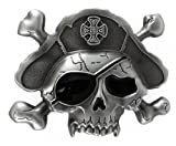 Pirate Skull Belt Buckle