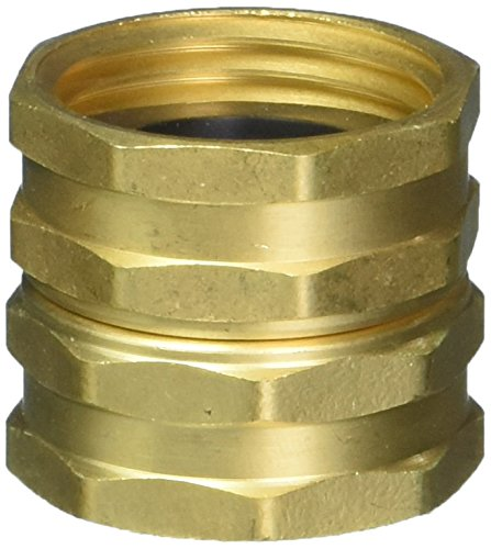 """Green Thumb C34MGT Brass Male End 3//4/"""" Hose Mender with Clencher"""