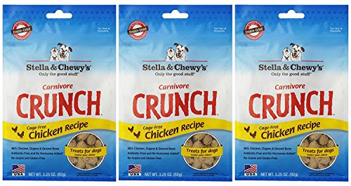 Stella & Chewy's Carnivore Crunch Chicken Freeze-Dried Dog T