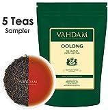 Oolong Tea Leaves Sampler - 5 TEAS, 25 Servings | OOLONG TEA FOR WEIGHT LOSS | 5 Delicious Oolong Tea Loose Leaf | 100% Natural Slimming Tea, Weight Loss Tea, Detox Tea | Oolong Tea Variety Pack