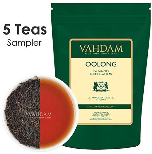 Oolong Tea Leaves Sampler - 5 TEAS, 25 Servings | OOLO