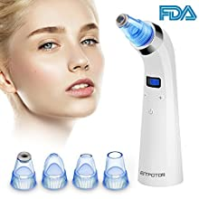 ; Are you afraid that strong suction power would hurt your skin? Or, are you afraid that you cost much but the blackhead remover doesn't work? Eitpoton's Blackhead ; Ance Extractor solve all your worried. 5 suction levels can be chose, which ...