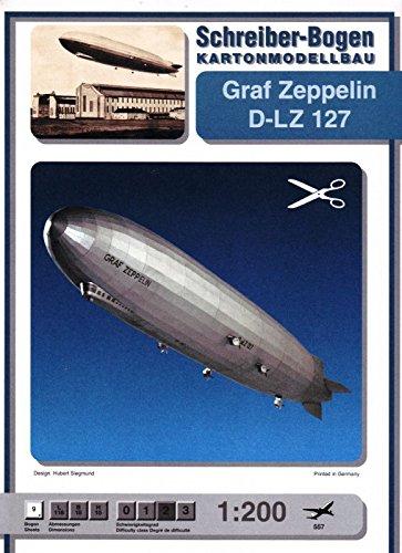 Schreiber-Bogen Graf Zeppelin D-LZ 127 Card Model
