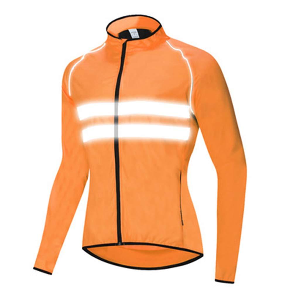 LUHHH Jacke Radfahren Windjacke Bike Raincoat Radfahren Regen-Mantel-Jersey-Fahrrad-Quick Dry Coat Regenschutz Windsicher