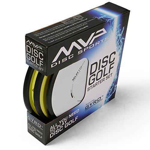 MVP Disc Golf Starter Set Premium Set of 3 Discs by MVP Disc Sports