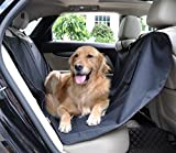 Waterproof Oxford Dog Seat Covers Universal Car Rear Seat Protector Pad Pet Cat Dog Mat Hammock Black by Auto-living Review