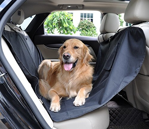 Waterproof-Oxford-Dog-Seat-Covers-Universal-Car-Rear-Seat-Protector-Pad-Pet-Cat-Dog-Mat-Hammock-Black-by-Auto-living