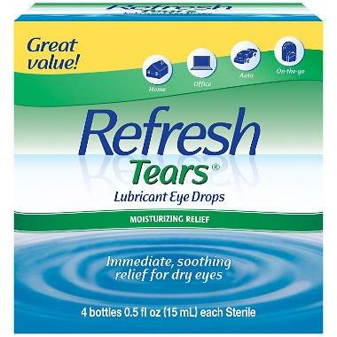Refresh Tears Lubricant Eye Drops Multi-pack