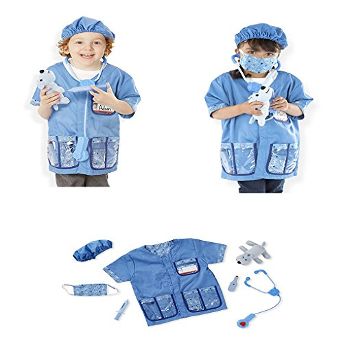 Faerynicethings Child Size Veterinarian Costume - Role Play Set - Ages 3-6]()