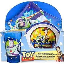 Disney / Pixar Toy Story 3-Piece Mealtime Set (Plate, Bowl and Tumbler)