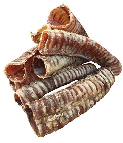 K9 Connoisseur Dog and Puppy Chew Treats - Made in the USA - Grain Free - America Grass Fed Beef Trachea Rich in Glucosamine for Natural Joint Health for Your Small to Large Puppies and Dogs - 1 Pound (The Biggest Dog In The Whole Wide World)