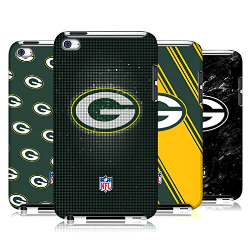 Official NFL 2017/18 Green Bay Packers Hard Back Case for Apple iPod Touch 4G 4th Gen from Head Case Designs