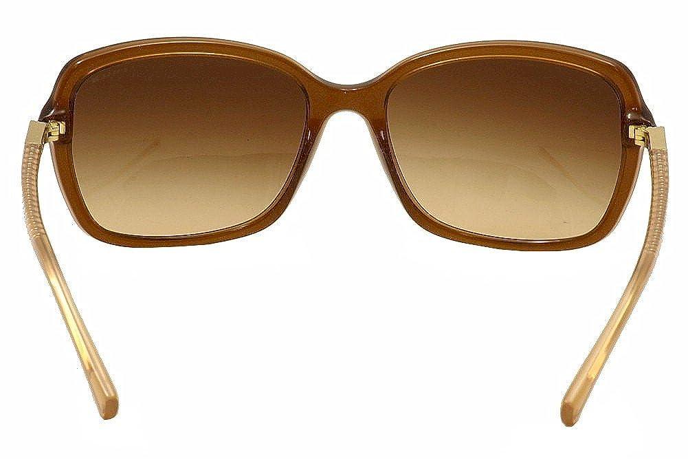 de3af53286 Coach HC 8152 Sunglasses 532813 Brown Glitter Crystal Brown 57-17-135   Amazon.co.uk  Shoes   Bags