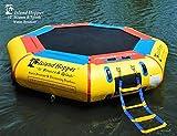 Island Hopper 10' Bounce N Splash Padded Water Bouncer