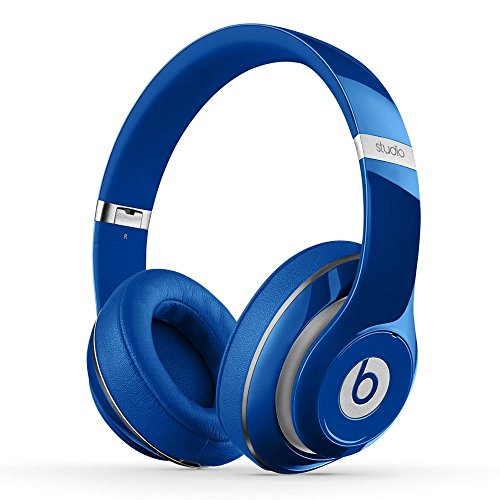 Beats Noise Isolation Studio 2.0 Wired Over-Ear Headphones - Blue