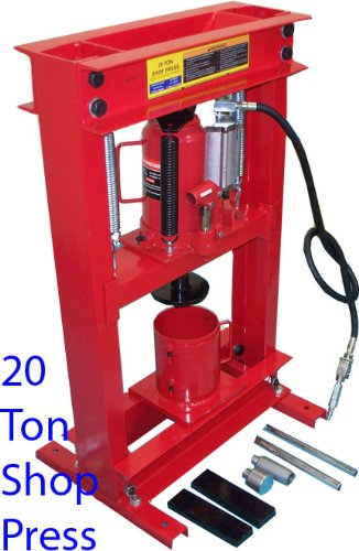 20 Ton Air Hydraulic Oil Filter CAN CRUSHER SHOP PRESS