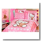 Sanrio Hello Kitty 6 Pc Twin Comforter Set