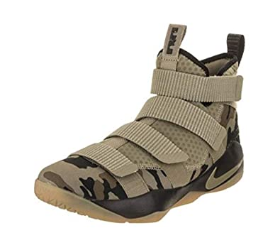 new concept 4e329 8ed7c Nike Lebron Soldier Xi Size 13 Mens Basketball Neutral Olive/Neutral  Olive-Sequoia Shoes