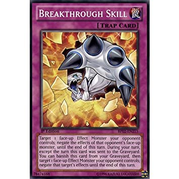 Amazon.com: YuGiOh : BP02-EN215 1st Ed Breakthrough Skill ...