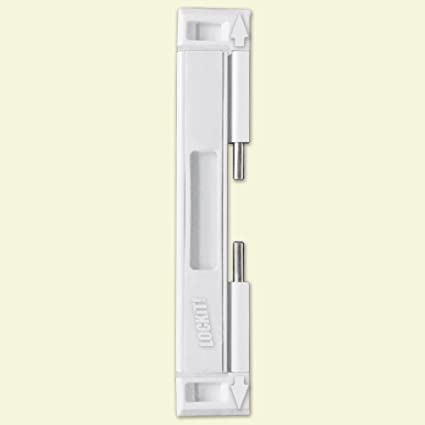 Amazon Lockit White Double Bolt Sliding Door Lock Electronics