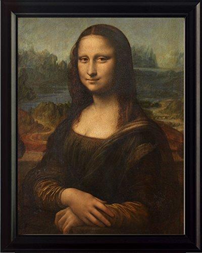 The Mona Lisa By Leonardo Da Vinci 8x10 Framed -