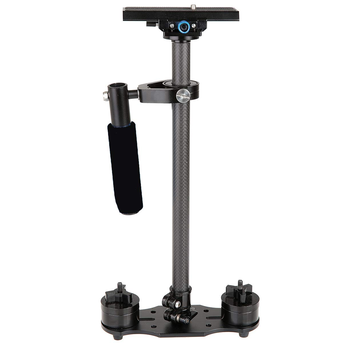 S-40 40cm カーボンファイバー ステディカム スタビライザー デジタル一眼レフカメラ用 (ブラック)   B07J12VDJX