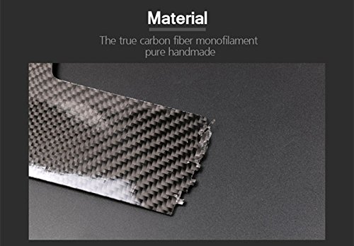 HOTRIMWORLD Carbon Fiber Front Roof Reading Light Trim Cover 1pcs for Porsche Macan 2014-2018 by HOTRIMWORLD (Image #4)