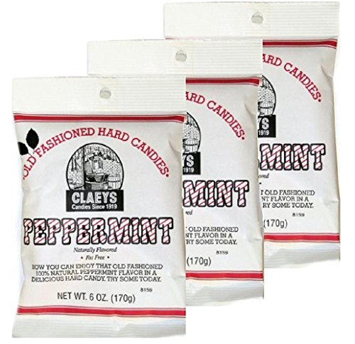(NATURAL PEPPERMT CNDY6OZ by CLAEYS CANDIES MfrPartNo 696)