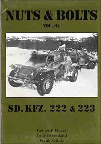 Sd.Kfz. 222 & 223. [German Four-wheeled Armoured Cars] Nuts & Bolts. Vol. 04. ()