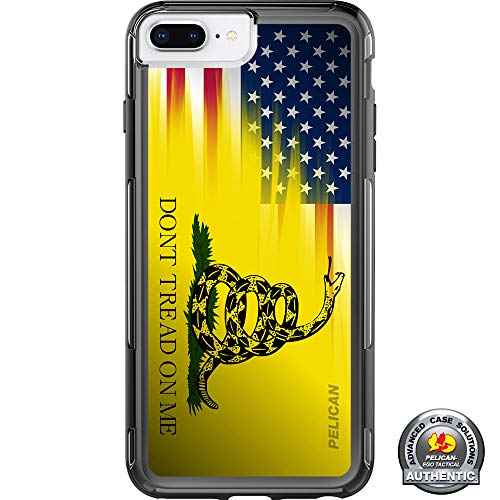 Limited Edition- Customized Printed Designs by Ego Tactical Over a Pelican- Adventurer Case for Apple iPhone 8 Plus/7 Plus/6 Plus/6s Plus (Larger 5.5