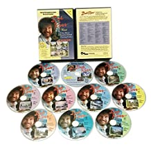 BOB ROSS JOY OF PAINTING SERIES: Nine One Hour Instuctional Guides - 10 DVD Set