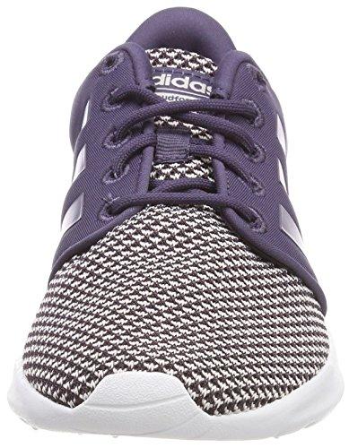 Damen Purtra adidas Fitnessschuhe Cloudfoam 000 Purtra Tinorc Violett QT Racer 7wBBfnCxRq