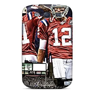 Defender Case For Galaxy S3, New England Patriots Pattern by lolosakes