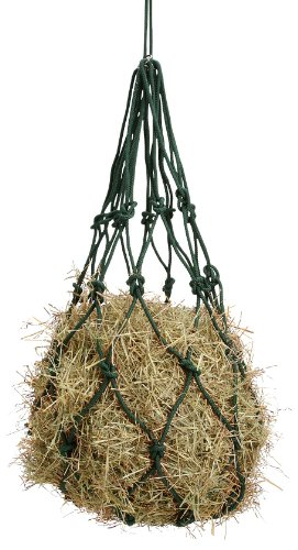 Tough 1 Solid Braided Cotton Hay Bag, Hunter Green