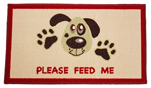J&M Home Fashions Pet Friendly Accent Mat, 18x30