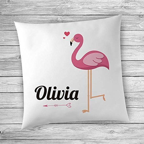 Cover, Name Pillowcase, Name Pillow Cover for Girls, Personalized Pillow, Name Pillow Covers, Girls Room Decor, Flamingo Decor, Name Pillowcase for Kids Room