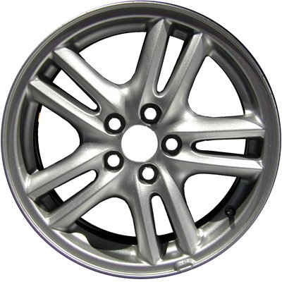 MAPM Premium ALLOY WHEEL; 16 X 6.5; 10 SPOKE; 5 LUG; 100MM BP; FLAT MOUNTING FOR 2003-2003 Subaru Legacy