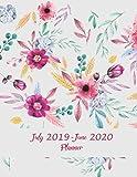 July 2019-June 2020 Planner: Beauty Floral