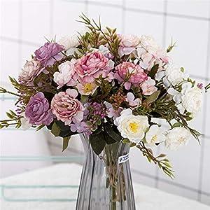 Rvbyjfg Artificial Flower Wedding Fake Flower Holiday Supplies Decoration Bouquet 42