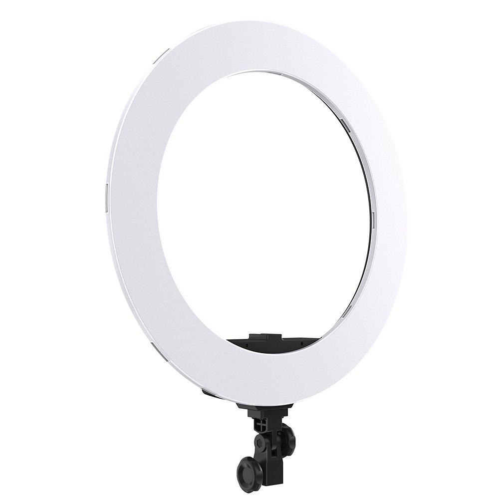 Andoer リングライト ビデオライト led ライト カメラ 丸型 HD-18S 18インチ 55W 3200-5600K 二色調光可能 ライトスタンド、スマートフォン Youtube、自撮り撮影などに使え  5600K B076F4HXLC