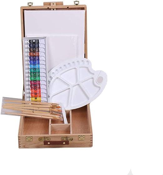 Cvthfyky Sistema de Pintura Infantil Set Art Supplies Kit Cuadro ...