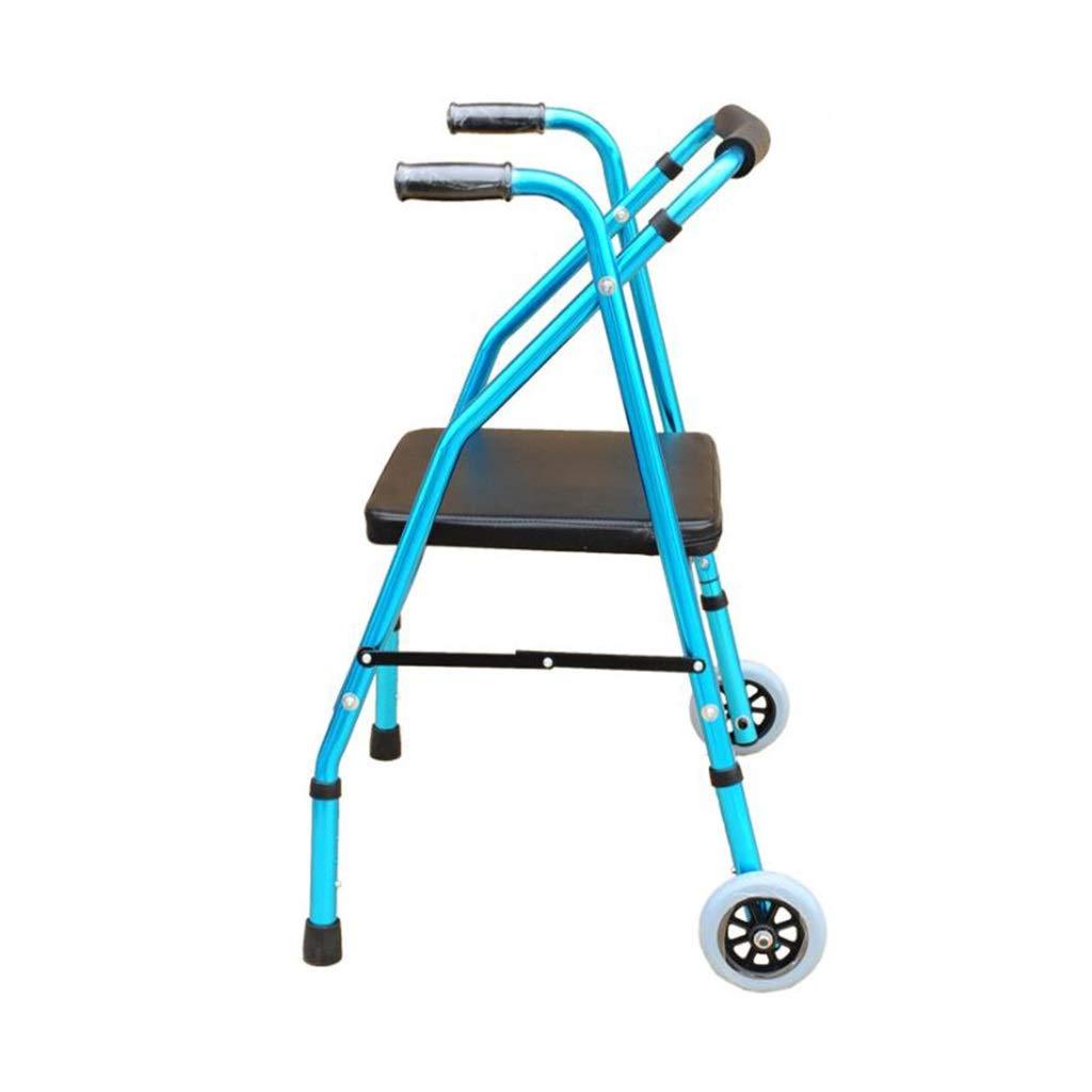 BS Walker Ancianos discapacitados de Aluminio Auxiliar Walker ...