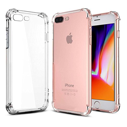 Phone Case for iPhone 8 Plus iPhone 7 Plus Cases,  Slim Shoc