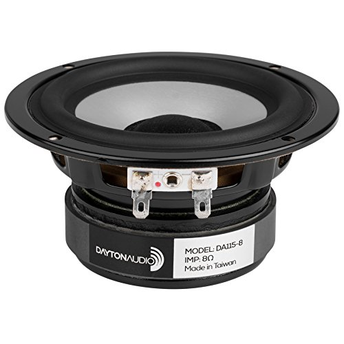 Dayton Audio DA115-8 4 Aluminum Cone Woofer by Dayton